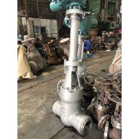 常州Z961Y-250C DN150电动高压电站加长杆焊接闸阀