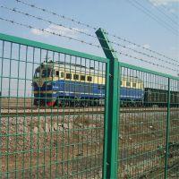 铁路隔离栅 工厂场地围栏网 浸塑交通护栏
