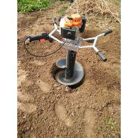 种植汽油挖坑机 便携式挖坑机厂家 圣鲁牌