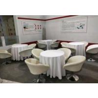 北京圆形洽谈桌租赁 配套洽谈椅出租 专业家具租借
