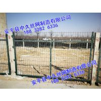 池塘专用防爬浸塑护栏网框架护栏网 公路护栏网铁路护栏网 园林护栏网