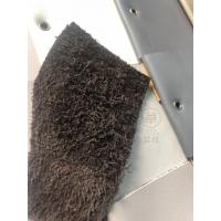 供应美式轻奢沙发皮革,1.1MM黑色荔枝纹小钢板头层真皮