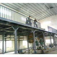 厂家供应钢结构平台 广东钢结构