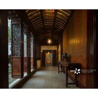 文化书院装饰仿古铝合金门窗