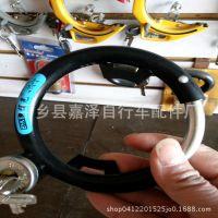 电动车自行车锁挂锁蟹钳锁齿轮锁马蹄钢管锁车轮保险锁U型锁圈锁