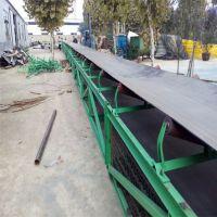 汉沽区耐腐蚀矿用输送机 转弯式皮带输送机
