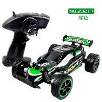 外贸小包装 电动2.4G遥控高速车模型 23211充电漂移越野玩具赛车