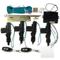 2/4门汽车遥控中控锁 免钥匙进入系统 配2遥控钥匙