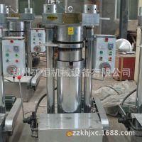 供全自动液压榨油机 优质230液压芝麻香油机 高效多功能榨油机