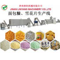 面包糠加工设备,油炸食品辅料面包糠生产设备,林阳机械