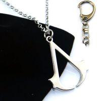 刺客信条加盟招商Assassins Creed刺客标志项链配送合金项链 匙扣