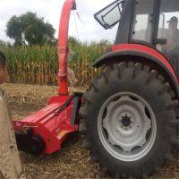 一体化秸秆收获机_ZN-1300苞米秸秆收获机_志农生产基地