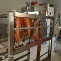 供应湖南腊肉专用烟熏炉 150型全自动烟熏炉 腊肠蒸熏一体炉