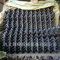 全网热销 优质输送机叶片 蛟龙叶片  碳钢冷轧螺旋叶片
