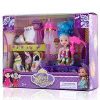 巴芘娃娃换装迷糊娃娃过家家苏菲亚公主搪胶娃娃地摊货源