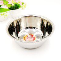 中式30cm不锈钢圆盆 耐用装汤洗菜盛饭家用盆 多功能厨房用具