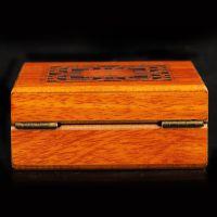 风水木雕木盒佛珠盒实木盒子手串手链礼品包装首饰珠宝盒子
