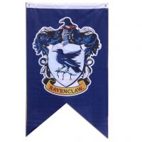 哈利波特学院旗帜 魔法四大学院标志 96X64CM定制旗帜班旗队旗