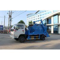 东风福瑞卡4方摆臂式垃圾车 程力垃圾车厂