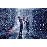雨屋 反向倒流水滴 互动艺术装置定制厂家