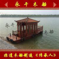 永干木船供应6米独亭木船 水上电动自驾游船 客船