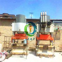 二手3500吨全自动液压压砖机全套设备 恒力泰大型砖机 液压砌块砖机
