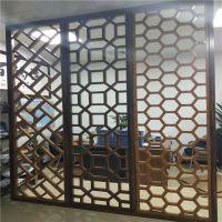 永州艺术铝窗花尺寸 客厅屏风铝花格装饰供应商