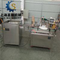 爽肤水喷雾剂灌装生产线 液体瓶装喷雾液体灌装生产线