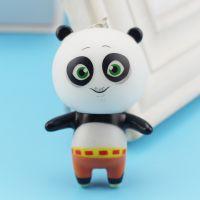 动漫火爆新款钥匙扣 Q款 功夫熊猫3动漫钥匙扣 活动赠送小礼品