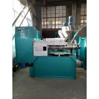 福建新款大型液压茶籽榨油机生熟两用螺旋榨油机多少钱一台
