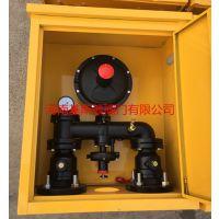 基斯顿楼栋式天然气调压箱RTZ-Q小区楼栋单元燃气调压阀调压器