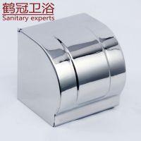 供应不锈钢纸巾盒 全包防水 加厚纸盒 镀铬表面 工程推荐