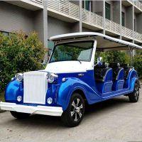 厂家直销11座四轮电动观光车巡逻车景区旅游观光车