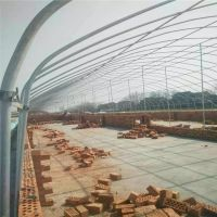 日光温室 养鹅 猪大棚 养殖大棚用热镀锌钢管 生态大棚建设