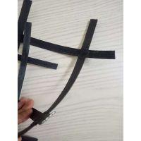 安徽省界首市煤矿井下用钢塑复假顶网是指碳素弹簧钢丝外包裹聚氯乙烯树脂,经表面处理后而成的网状制品
