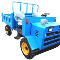 两驱果园用四轮拖拉机 轻松操作方向盘四轮四不像车 山西建筑工地专用四不像