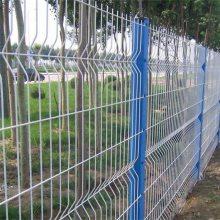 桃型柱护栏网厂家 小区围栏网 工厂外围防护网