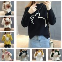 工厂清货大量毛衣韩版时尚女士毛衣外套清仓地摊胡批发几元毛衣处理
