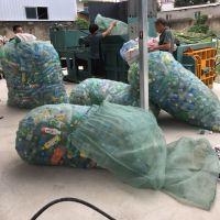 热销小型卧式废品压缩打包机湖南塑料瓶铝合金膜压缩打包机思路机械直供