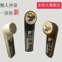鞋油皮具护理韩国进口正品袋鼠/KANGAROO液体鞋油黑棕白色一喷亮