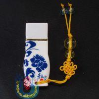 青花瓷瓶U盘 工厂批发 中国陶瓷工艺品U盘 8/16G 32/64/4G优盘