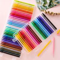 韩国文具慕那美monami3000彩色中性笔水彩笔手账勾线纤维笔学生用