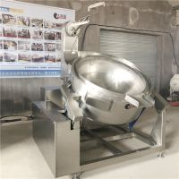 蜂蜜花生加工机械/豆沙搅拌炒锅/自动化程度高