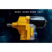电动卷膜器,温控爬升器,直流电源温室大棚卷膜专用机,hcws