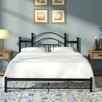 圆形不锈钢双人床男孩床单人铁床家用单人床铁艺床