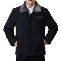 反季清仓冬季男士羽绒棉服男中长款加厚保暖修身款青年男装外套潮