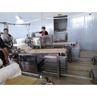 淮南供应商用千张豆腐机 豆腐皮机 不锈钢仿手工生产豆腐的机器多少钱 做豆皮的机器