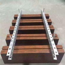 木纹铝方通吊顶效果图 北京铝方通供应厂家