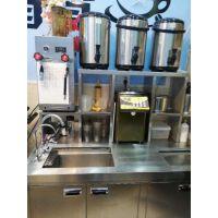 深圳罗湖新豪工作台贡茶不锈钢水吧台酒吧咖啡店全套设备