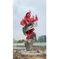 塑景雕塑制作不锈钢火炬雕塑 城市雕塑市政工程